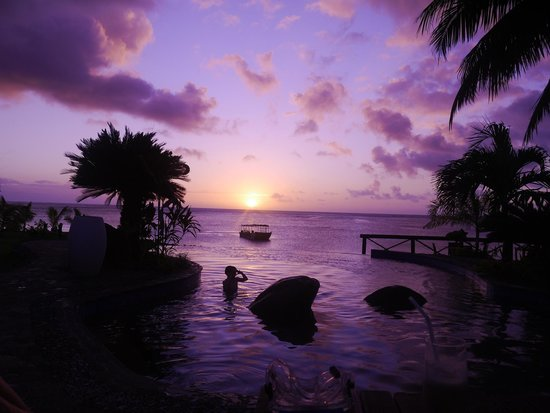 Le Lagoto Resort & Spa: another gorgeous sunset