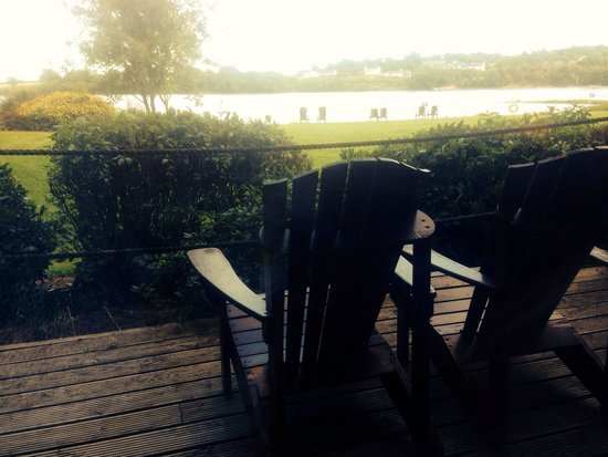 Ferrycarrig Hotel: View from rm 109
