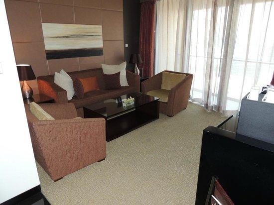 The Address Dubai Mall : Sitting Room