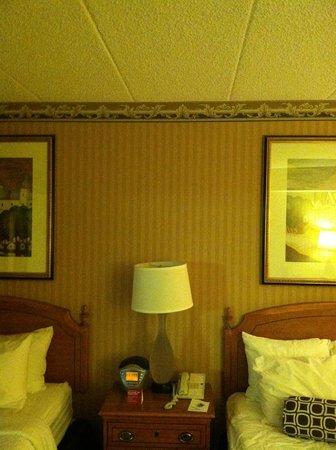 Crowne Plaza Hotel Madison: Popcorn Ceilings