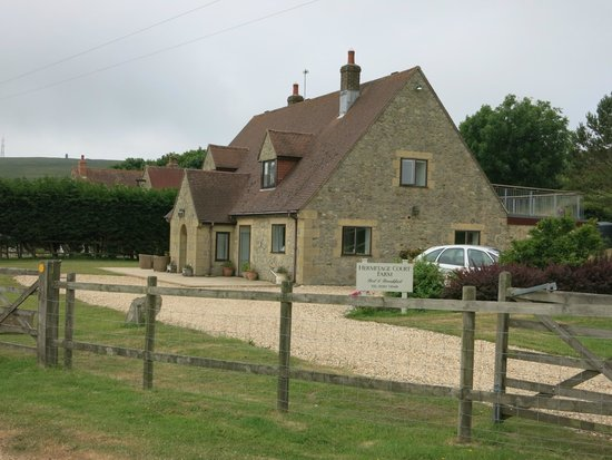 Hermitage Court Farm: Front of house