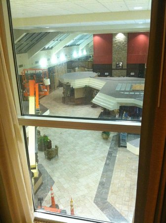 Crowne Plaza Hotel Madison : View from my room :(