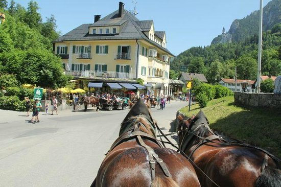 Castillo de Neuschwanstein: Horse and carriage ride from Neuschwanstein