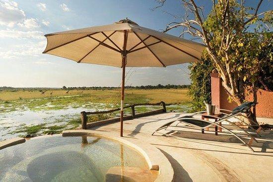 Kafunta River Lodge: Hot tub