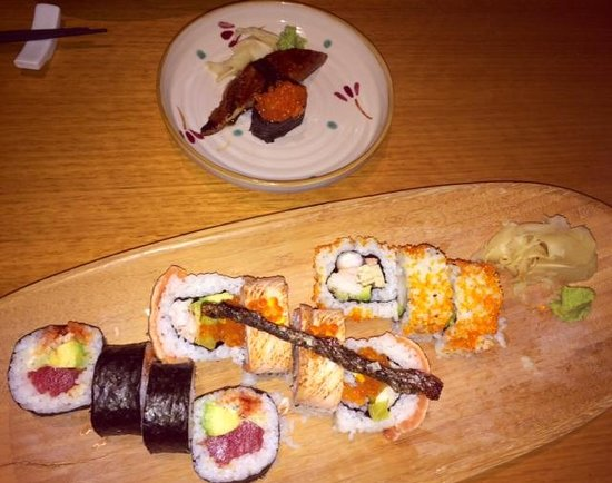 Sono Japanese Restaurant Portside Wharf : Crispy fish skin was divine