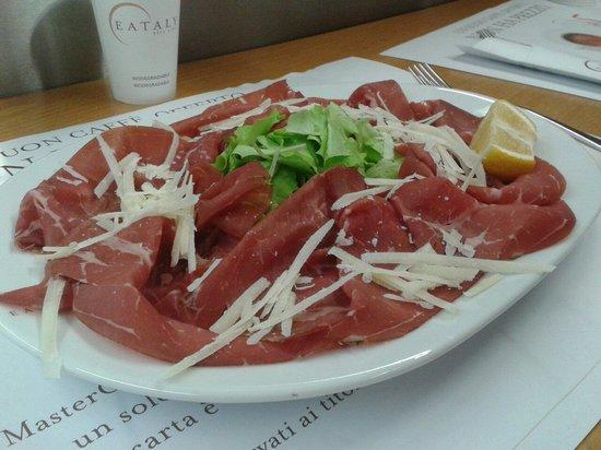 Eataly Lingotto: Bresaola
