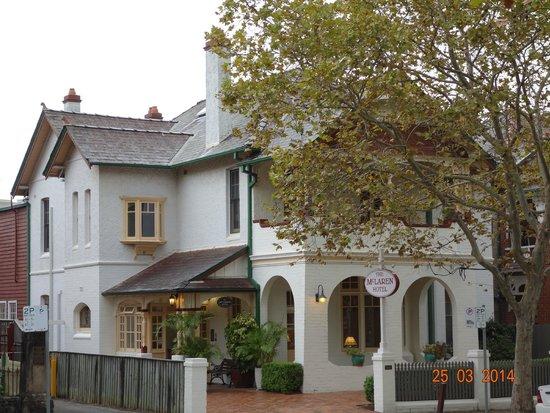 McLaren Hotel: heritage hotel