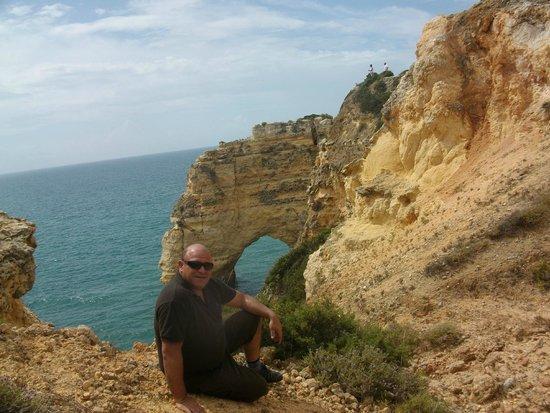 Praia da Marinha: para quedarse un buen rato de reflexion