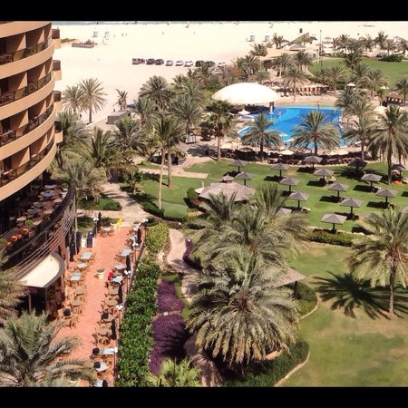 Le Royal Meridien Beach Resort & Spa: From the balcony