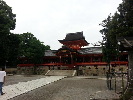 Iwashimizu Hachimangu: 上院社殿