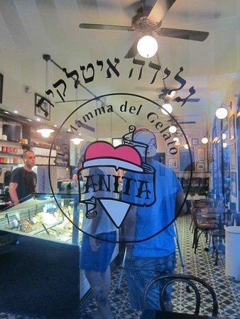 Anita Cafe La Mamma del Gelato: In Neve Tzedek