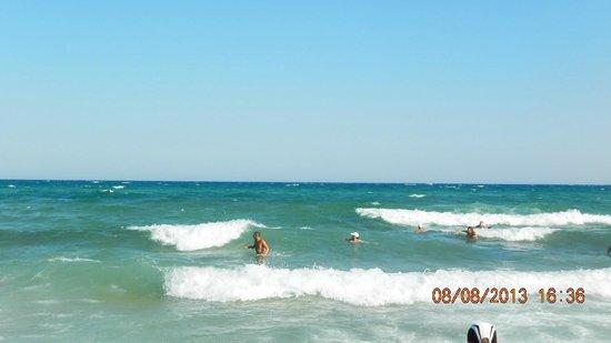Hammamet Beach : море после обеда
