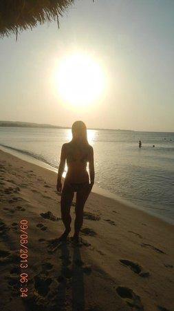 Hammamet Beach : Рассвет на пляже