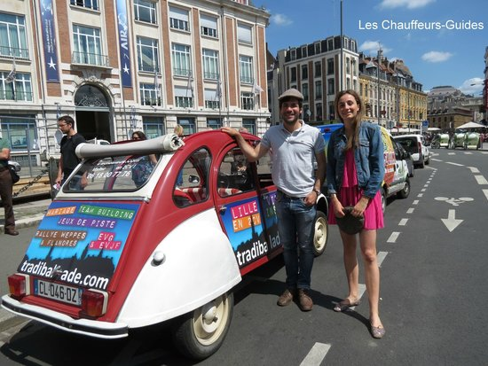 Tradi'Balade : Nos chauffeurs-guides....