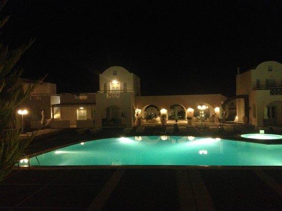 El Greco: Área central da piscina principal