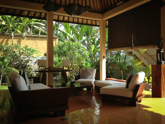 Villa Selat : Great place to sit and relax