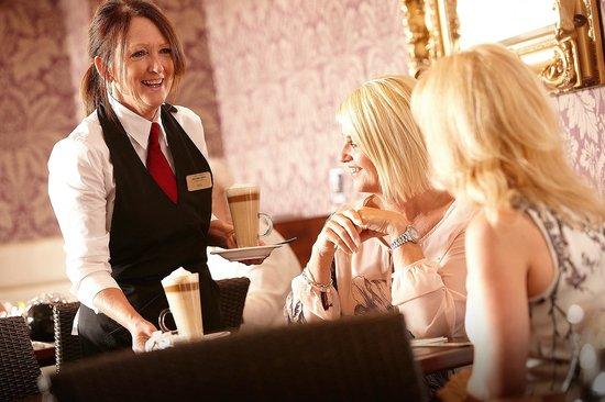 Oldham, UK : The Wickentree Restaurant Waitress