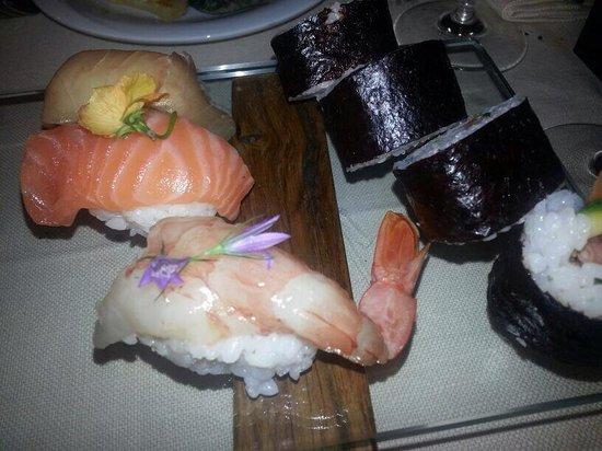 Terrazza Sul Burano: Presentazione nella serata sushi