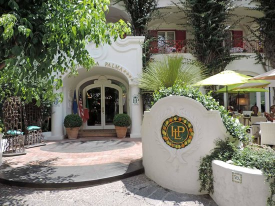 Hotel La Palma : hotel a palma, capri, napoli