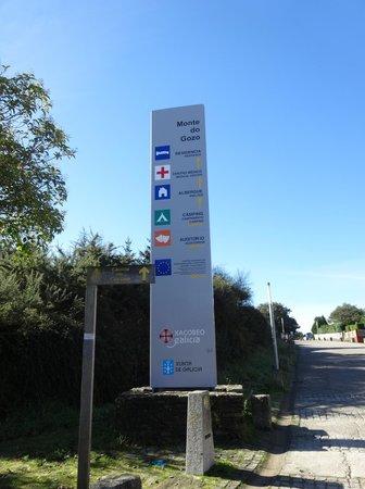Ciudad de Vacaciones Monte do Gozo: 看板