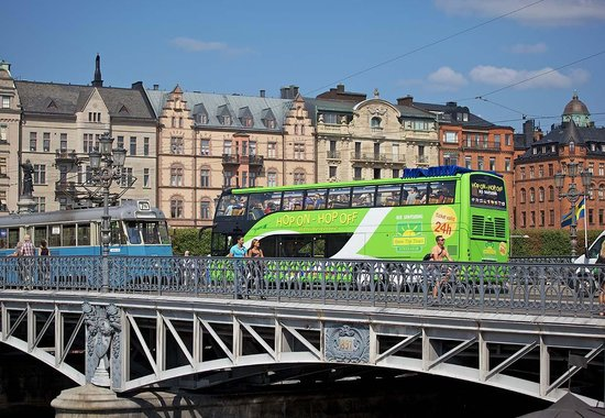 Stromma Open Top Tours Hop On – Hop Off Bus