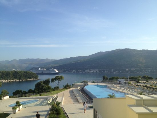 Valamar Argosy Hotel: View from our room - breathtaking!