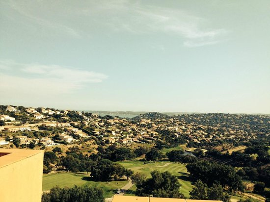 Amarante Golf Plaza : vue sur le golf