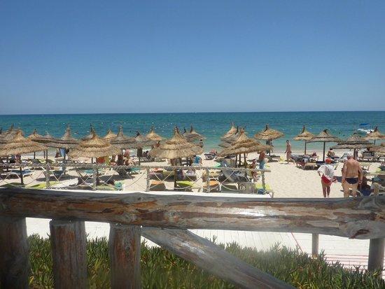 Hotel Riviera: strand