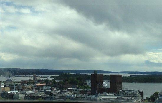 Radisson Blu Scandinavia Hotel : View from Business Class room