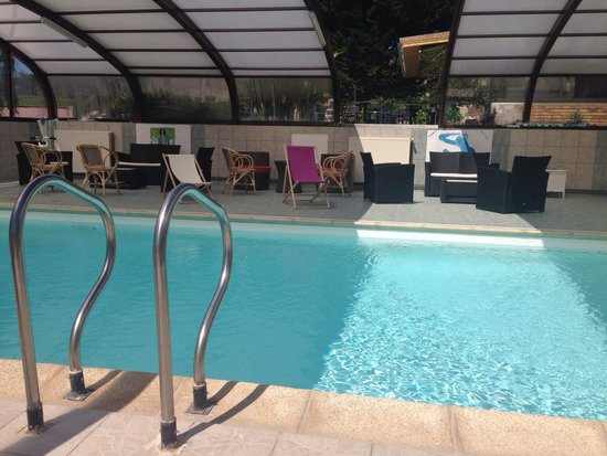 Le Saint Antoine : La piscine