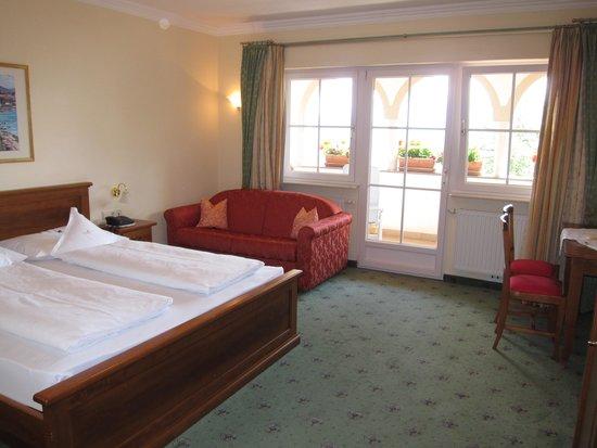 Hotel Konig Laurin: Zimmer ital. Stil