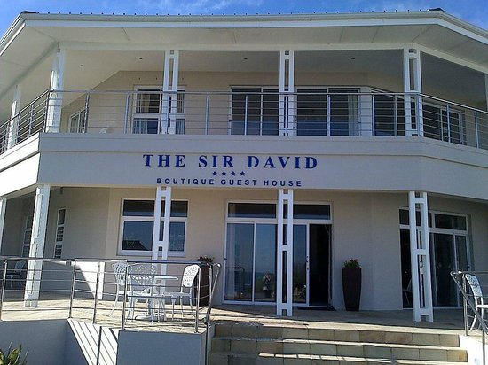 The Sir David Boutique Guest House: View from the beach