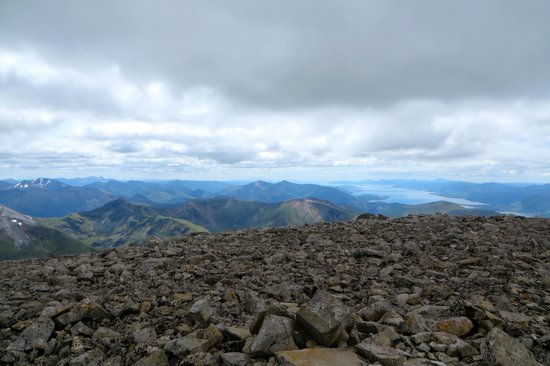 Ben Nevis: Fantastic view from the top