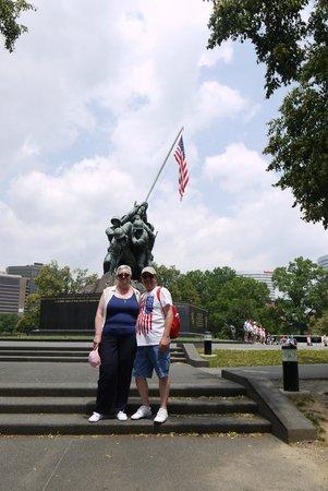 U.S. Marine Corps War Memorial: A memorable visit