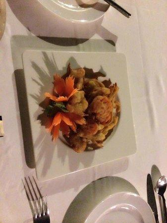 Baitong Restaurant Chaweng Beach: Mix vegetable tempura