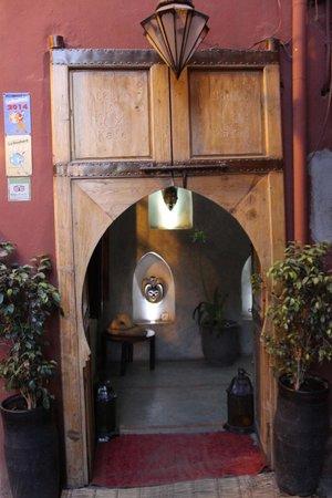 Souk Kafé : entrée du restaurant