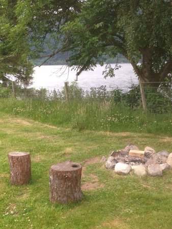 Loch Ness Shores: Outside the wigwam