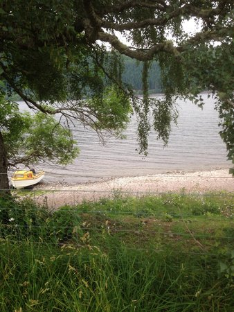 Loch Ness Shores: View from outside the wigwam