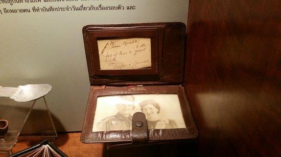 Hellfire-Pass-Memorial-Museum: Wallet a POW carried