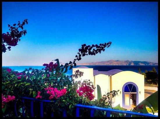 Villa Asina: View from pool/garden
