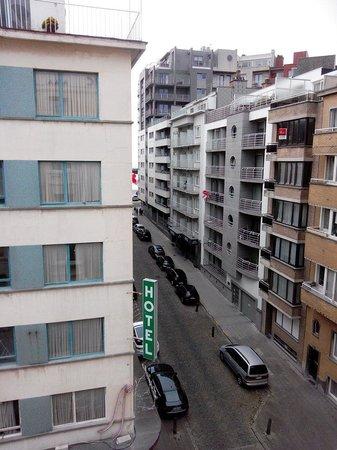 Hotel Pacific : Vue de la chambre