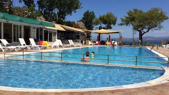 Koulouris Beach Hotel: My mates in the pool