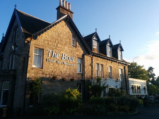 The Boat Hotel: the Boat