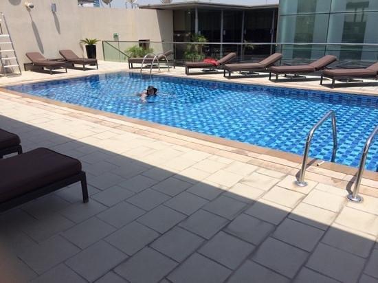 Centro Barsha : Roof Top Swimming Pool.