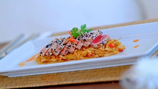 Oceanside Beach Club & Restaurant : Food
