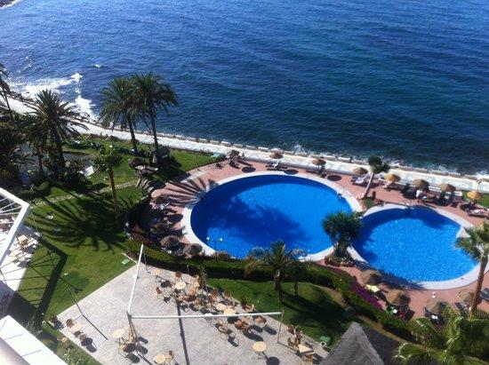 THB Torrequebrada Hotel: vistas desde la habitación