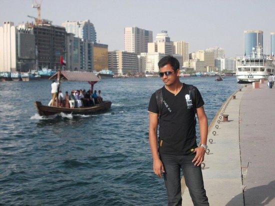 Bur Dubai Abra Dock : Taken at Dubai creek. Best place to go in Dubai  after beaches.
