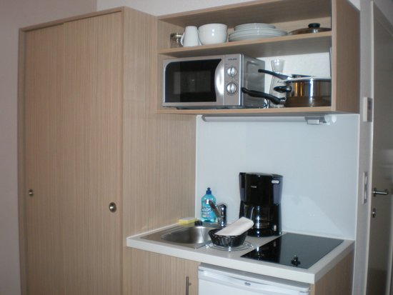 Adagio Access Brussels Europe: cucina 605 camera