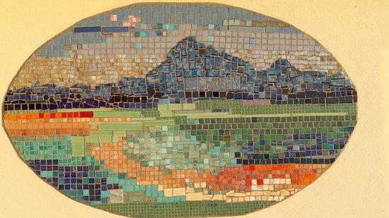Mosaik an der wand ,großer balkon   picture of anlin beach house ...