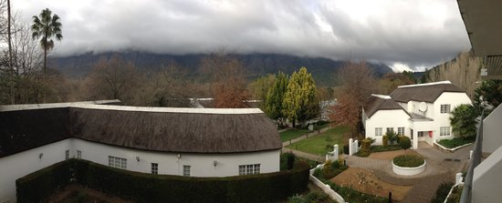 Le Franschhoek Hotel & Spa: The view from our room